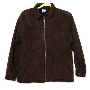 ALF KUHL | Chocolate Micro Suede Fleece Coat